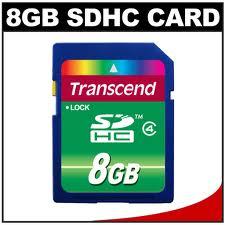 Thẻ nhớ Transcend SDHC 8GB class 4