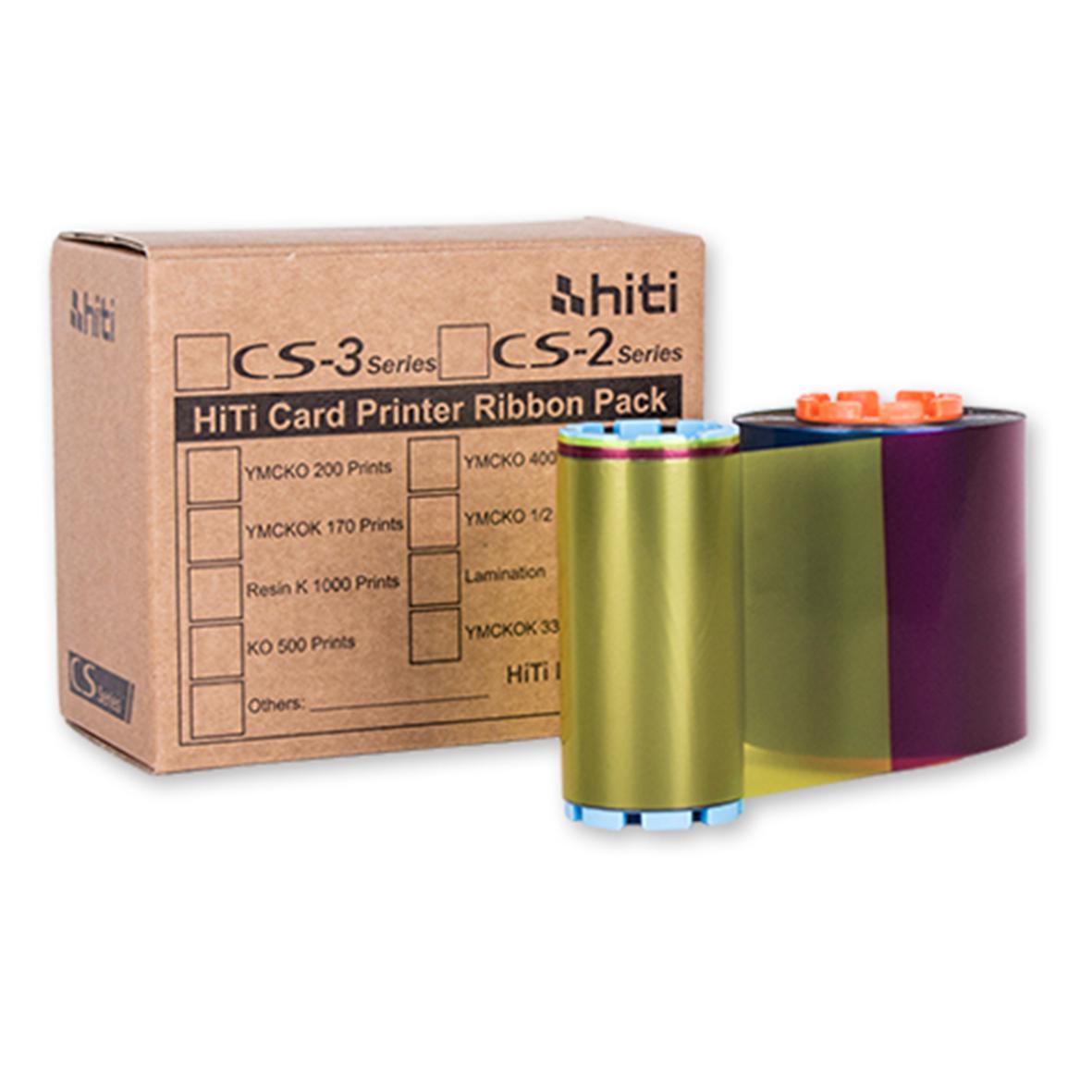 Ribbon mực in màu máy in thẻ nhựa HiTi CS200e YMCKO