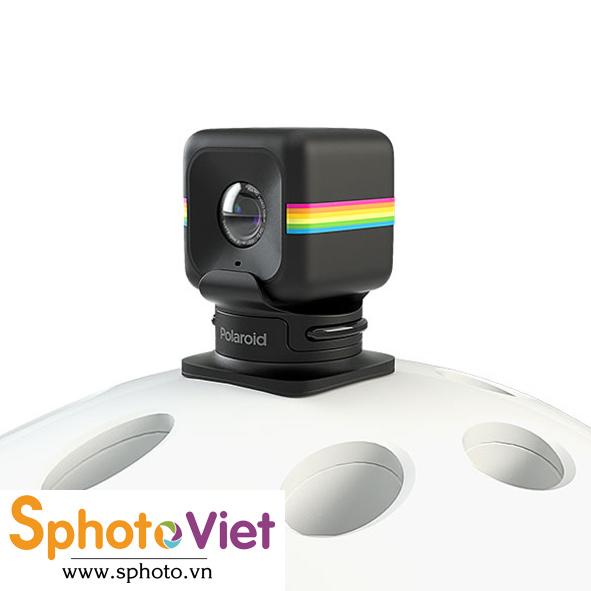 Giá đỡ máy quay Polaroid Cube - Halmet Mount (Đen)