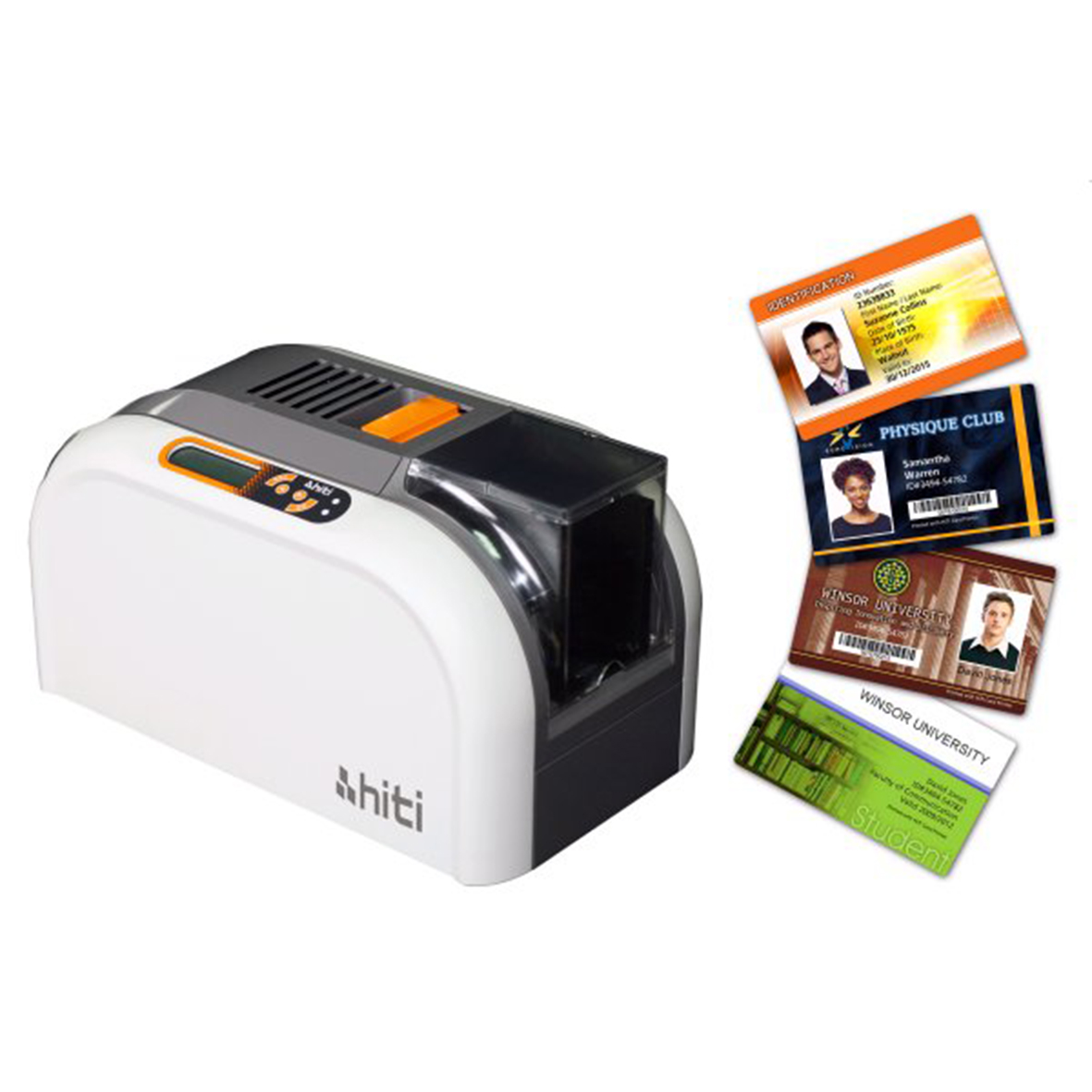 Máy in thẻ nhựa HiTi CS200e