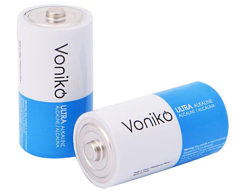 Pin VONIKO USA Ultra Alkaline D 1.5v LR20/2B vỉ 2 viên