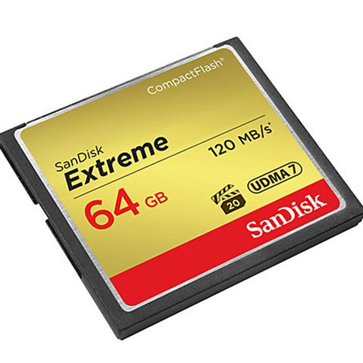 Thẻ nhớ Sandisk CF Extreme 64GB 800X 120m/s