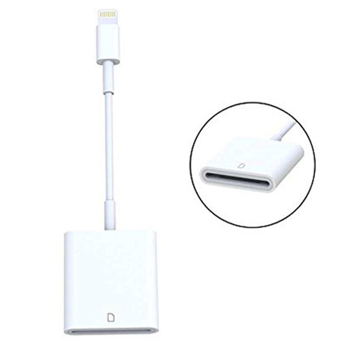 Đầu Lightning đọc thẻ SD dùng cho điện thoại iPhone & iPad