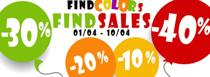 FINE COLORS - FINE SALE (1/4/2016 - 10/4/2016)
