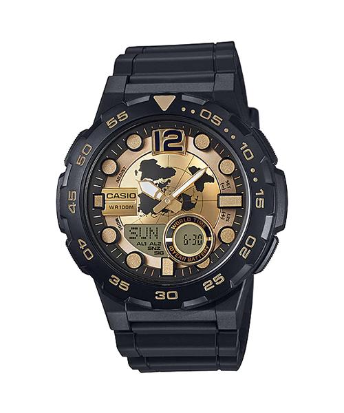 Đồng hồ CASIO AEQ-100BW-9AVDF