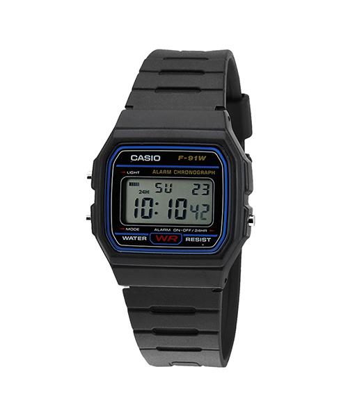 Đồng hồ CASIO F-91W-1DG