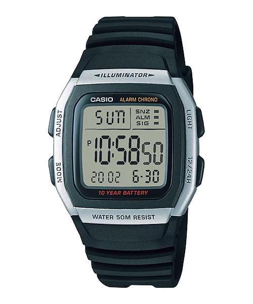 Đồng hồ CASIO W-96H-1AVDF
