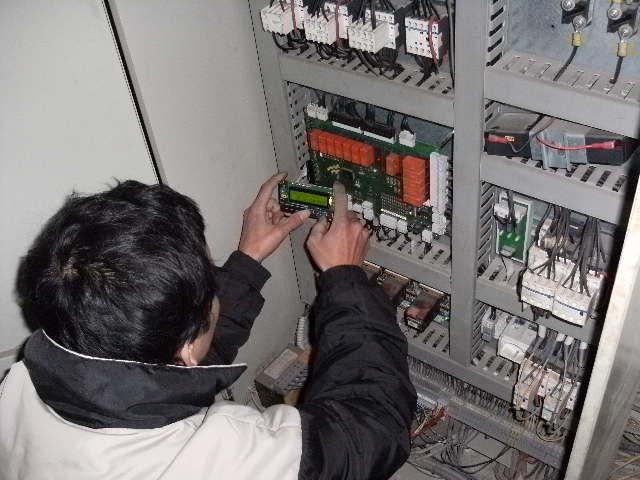 Lắp điện cho hệ thống thang máy