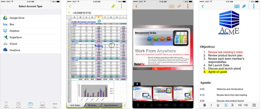 office cho ios docs to go preminum