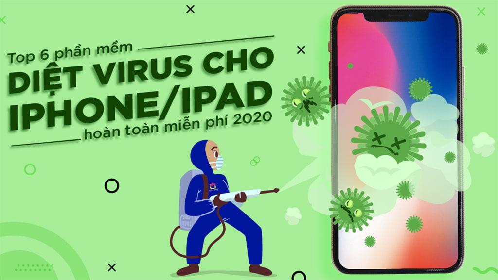 diệt virus trên iphone ipad