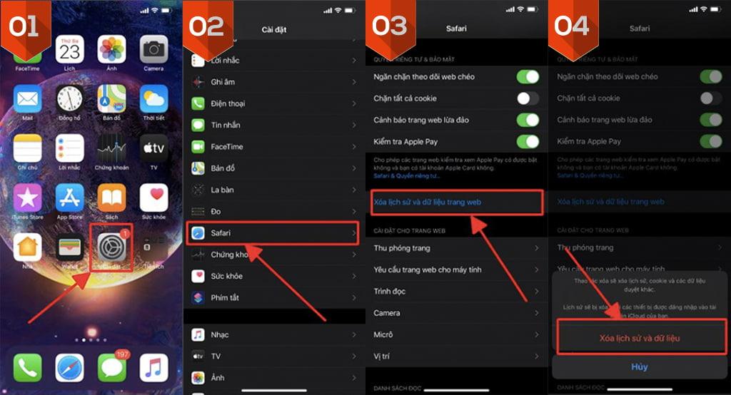 Khôi phục cài đặt lại iPhone và iPad khi bị nhiễm Virus Mã độc