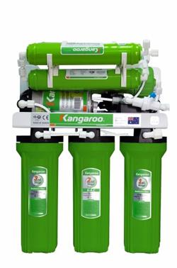 Máy lọc nước Kangaroo 9 lõi không vỏ tủ KG110A