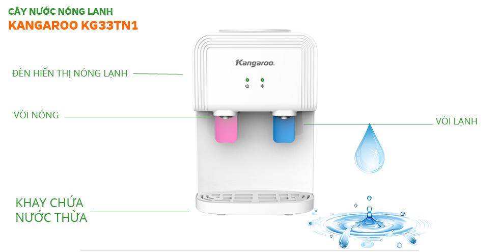 Cây nước nóng lạnh Kangaroo KG33TN1