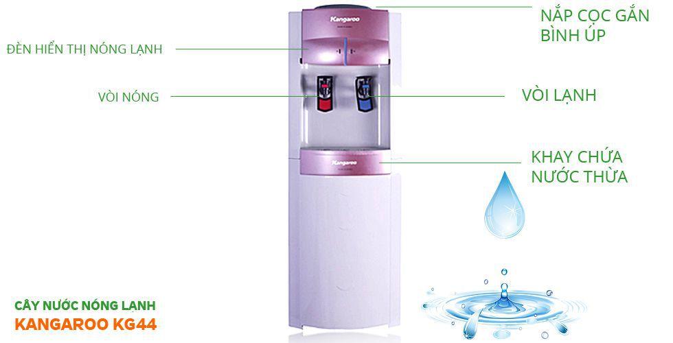 Cây nước nóng lạnhKangaroo KG44