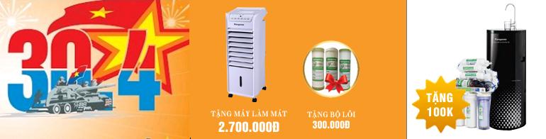 Máy lọc nước Kangaroo Hydrogen KG100HC  khuyến mại