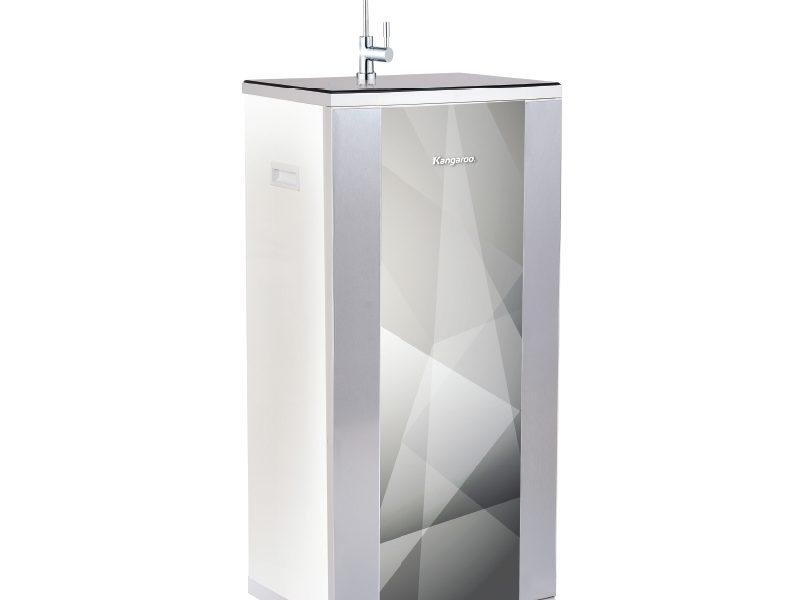 Máy lọc nước Kangaroo Hydrogen 9 lõi KG100HB vỏ tủ VTU Diamond bạc
