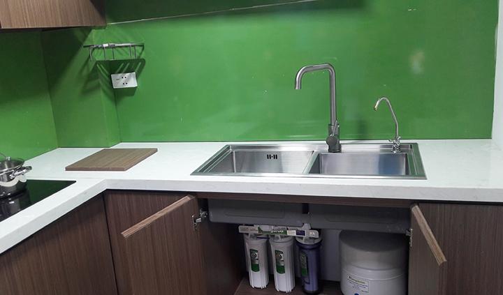 Mô hình Máy lọc nước Kangaroo không vỏ lắp gầm chậu rửa bát