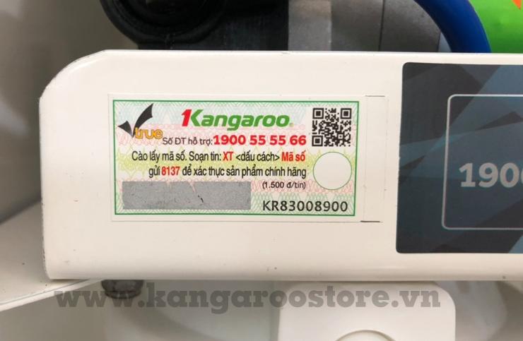 Phân biệt Máy lọc nước Kangaroo qua tem SMS
