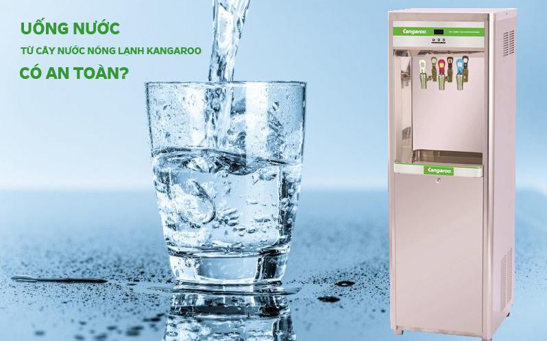 ống nước trực tiếptừ cây nước nóng lạnh kangaroo liệu có đảm bảo vệ sinh, an toàn?