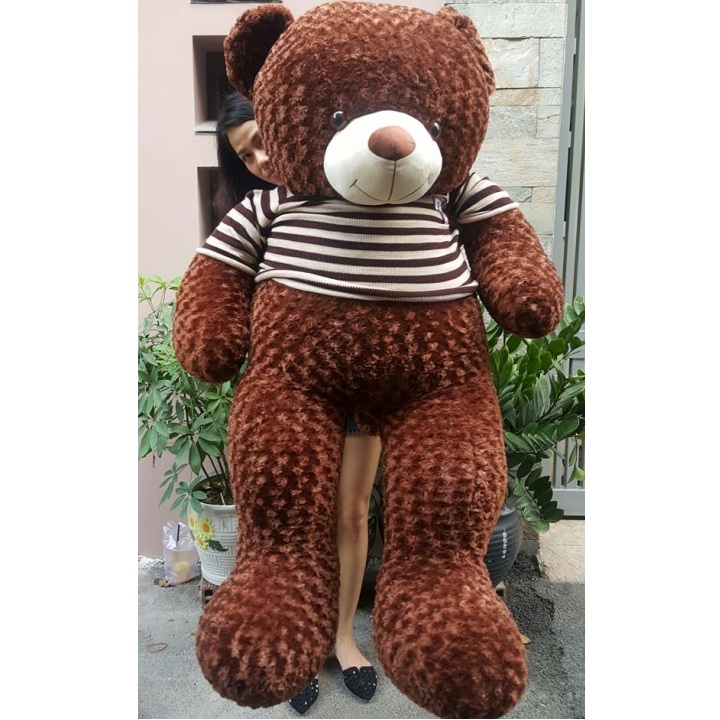 Gấu bông lớn áo len cực xinh 02