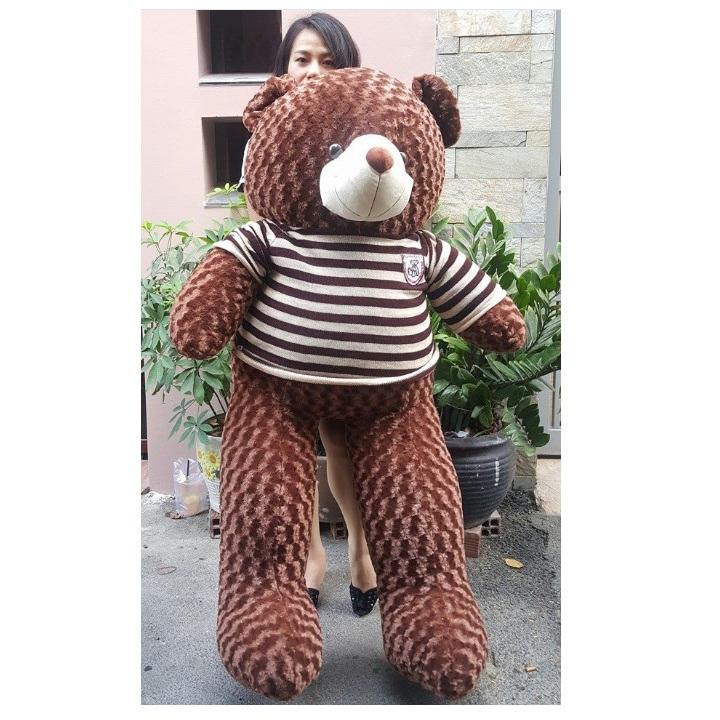 Gấu bông lớn áo len cực xinh 03