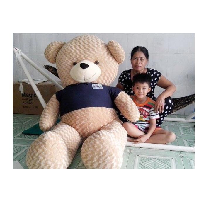 Gấu bông teddy 1m8 đẹp to giá rẻ nhất