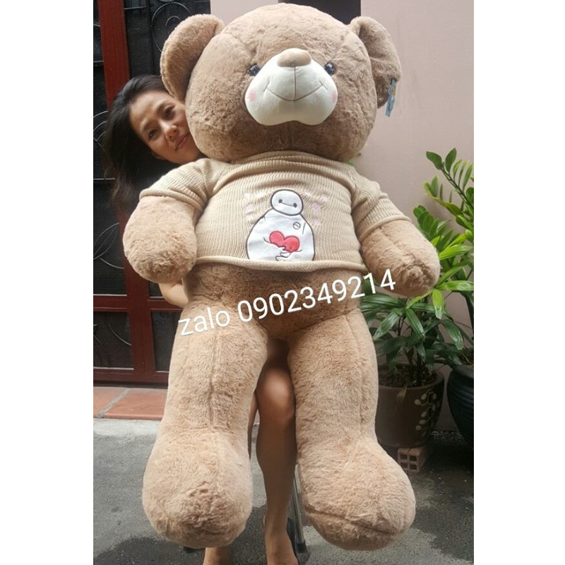 Gấu bông đáng yêu baymax 1m4