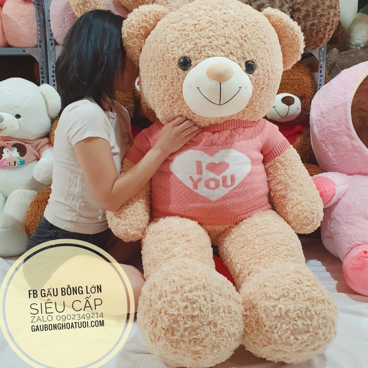 Gấu bông ngoại nhập xinh xắn i love