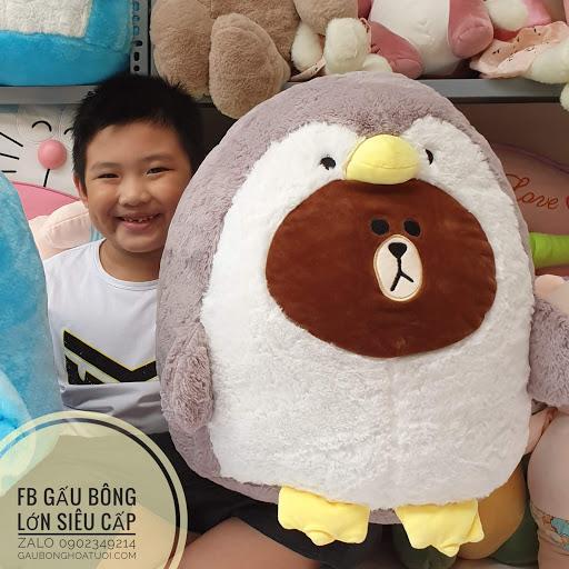 Gấu bông Brown chim cánh cụt