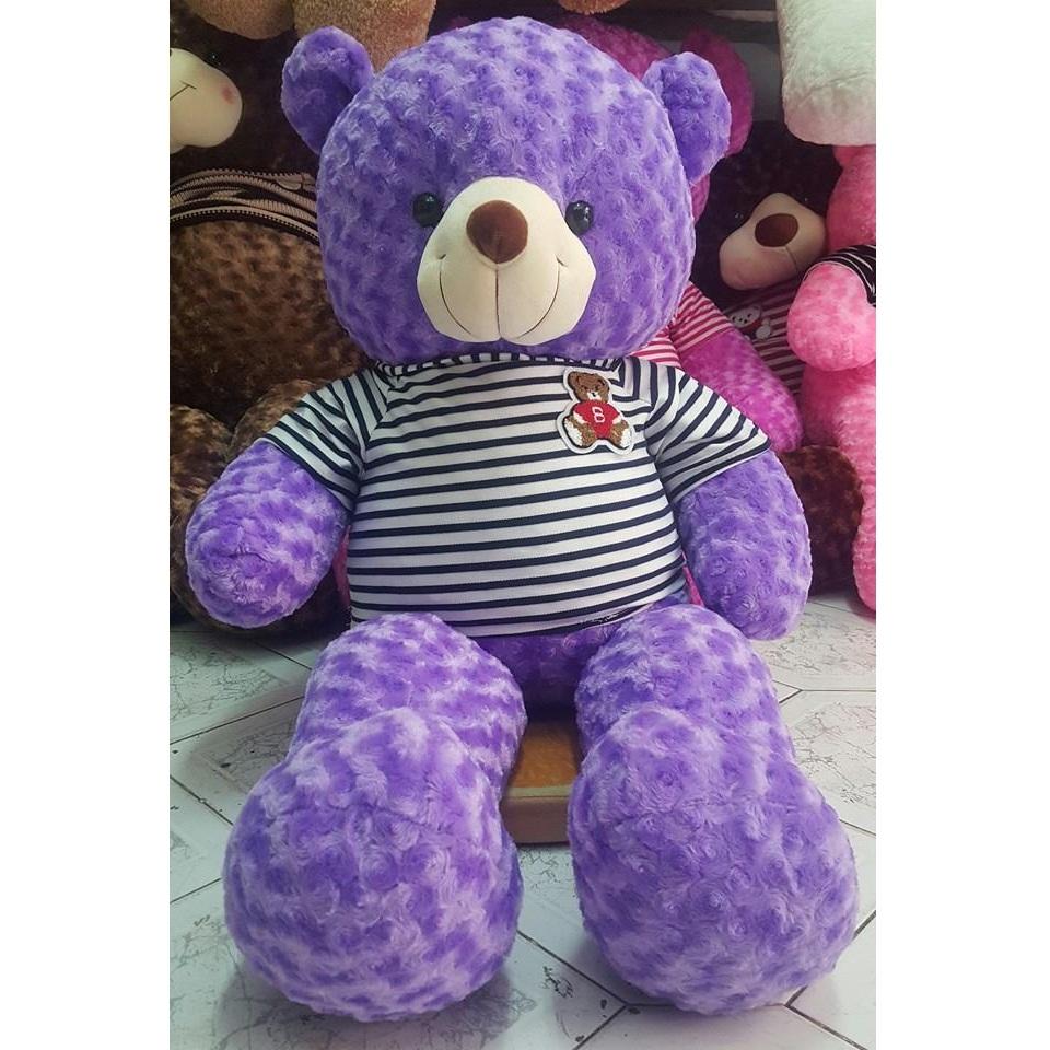 Gấu teddy tím 1m2