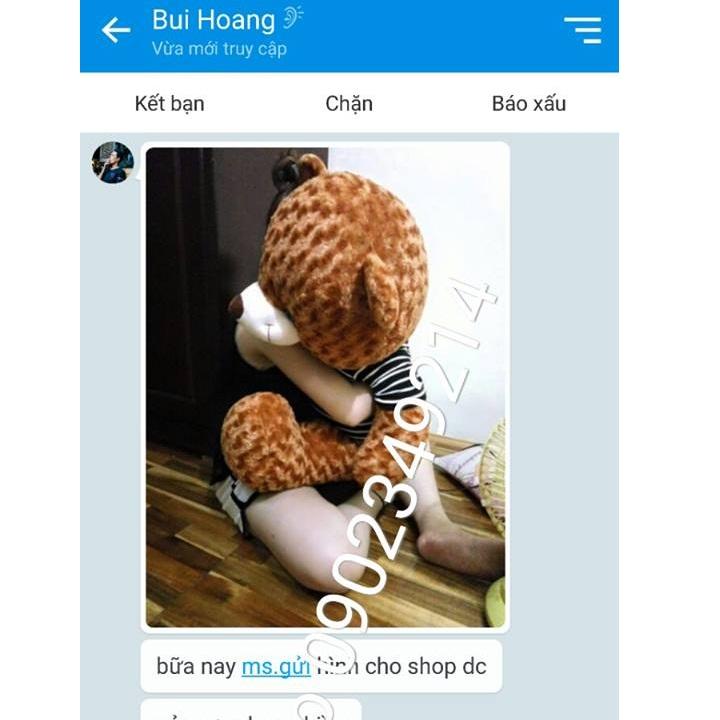 Gấu TEDDY dễ thương giá rẻ 01