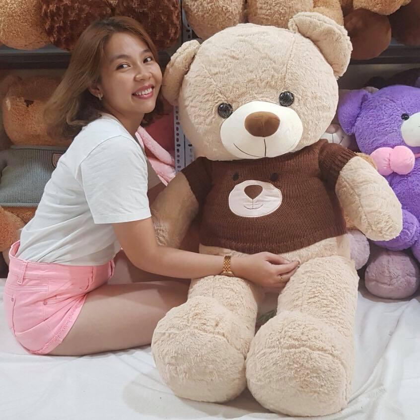 Gấu bông áo gấu 1m5