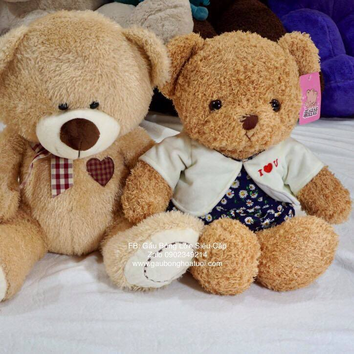 Gấu bông cầm tay ngoại nhập