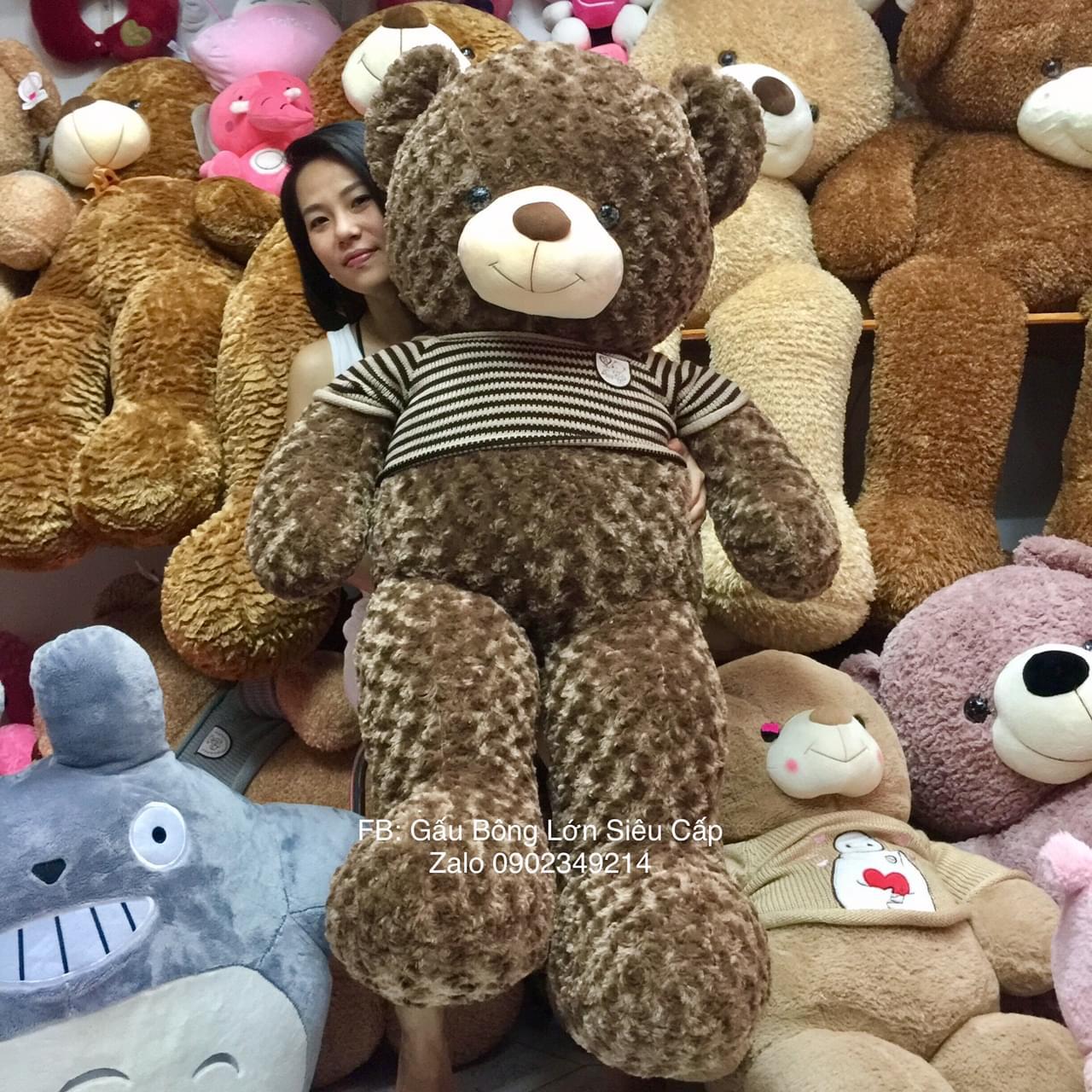 Gấu bông lông xoắn 1m5