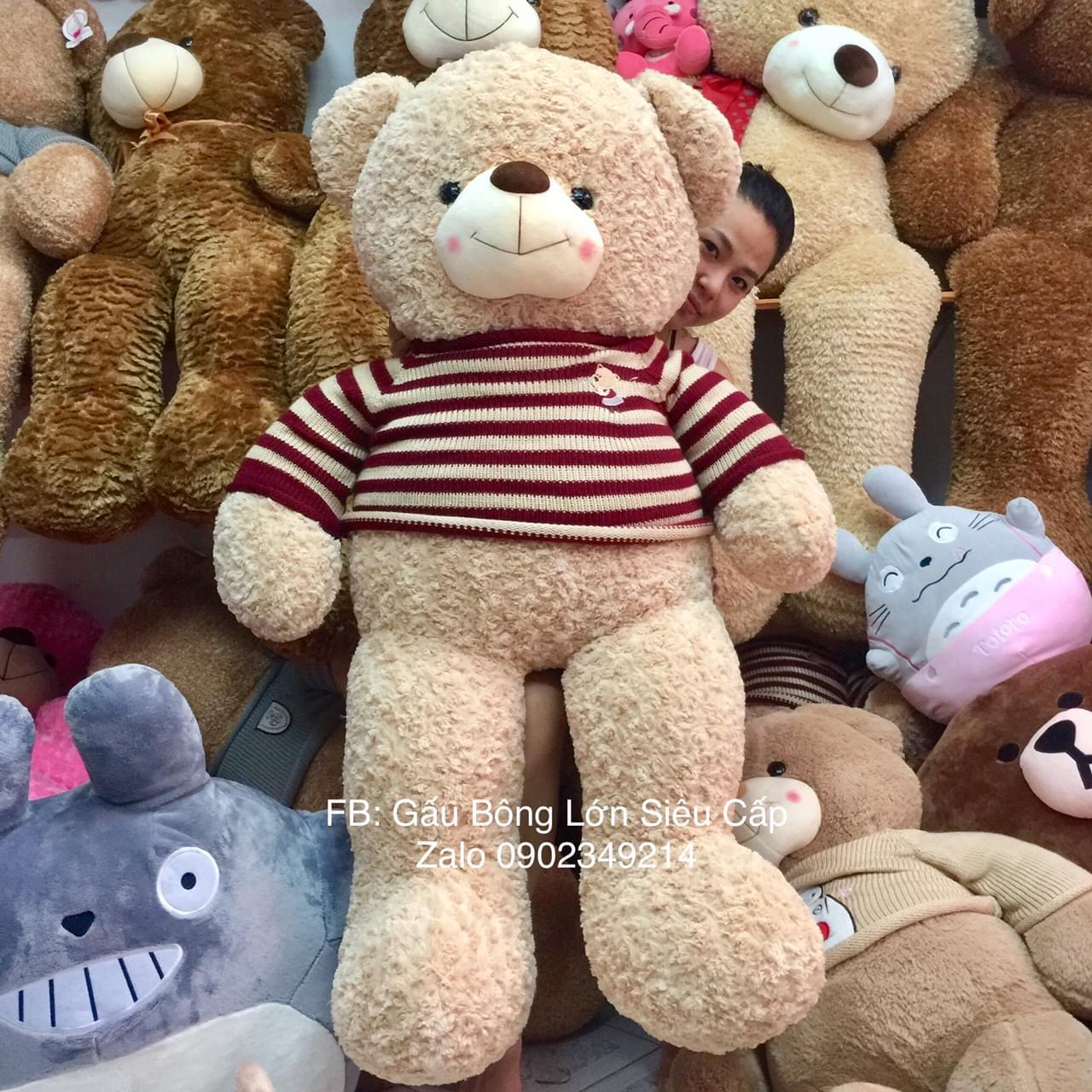 Gấu bông Choco Be Thái Lan cao cấp 1m6