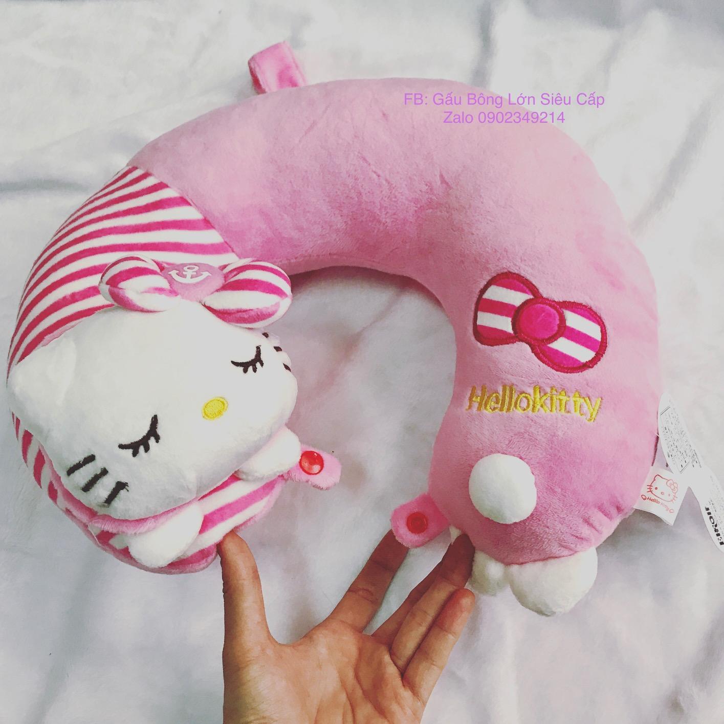 Gối cổ Hello Kitty