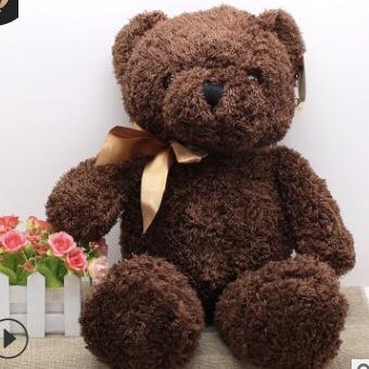 Gấu bông teddy mini nơ xinh size 45cm