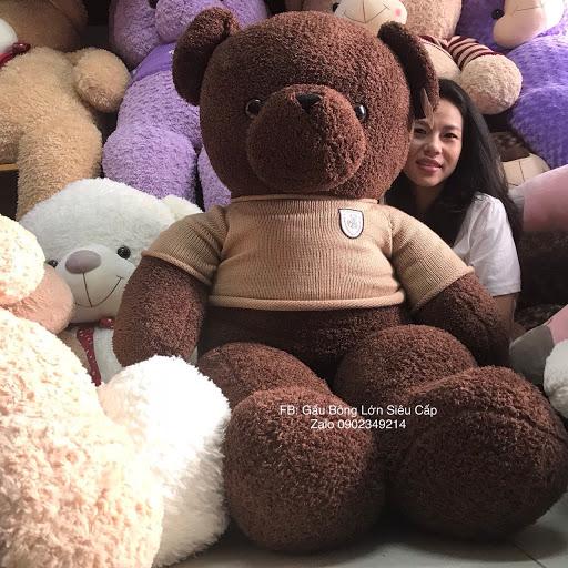 Gấu bông socola 1m4
