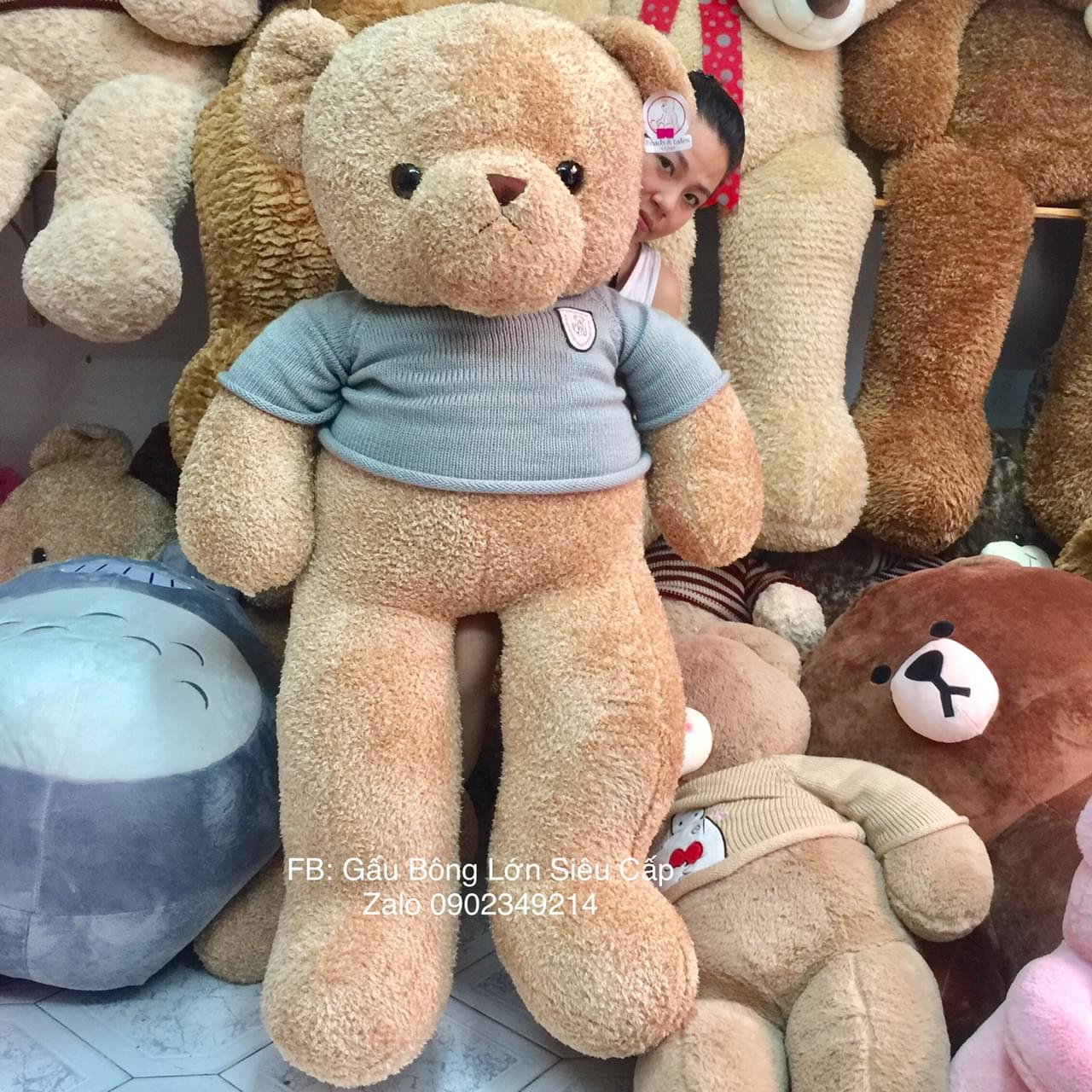 Gấu Teddy Heads &Tales 1m6