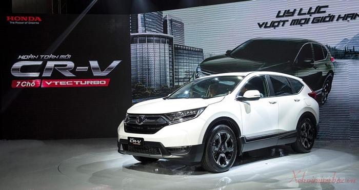 XE ô tô honda CRV 7 chỗ nhập khẩu Thái Lan nguyên chiếc