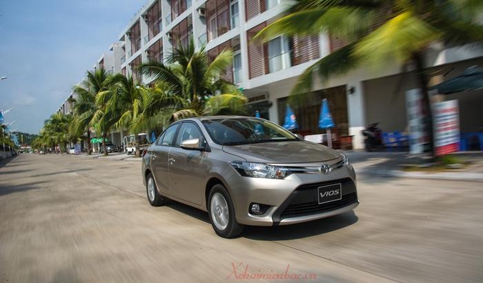 Xe Toyota Vios 2017, 2018