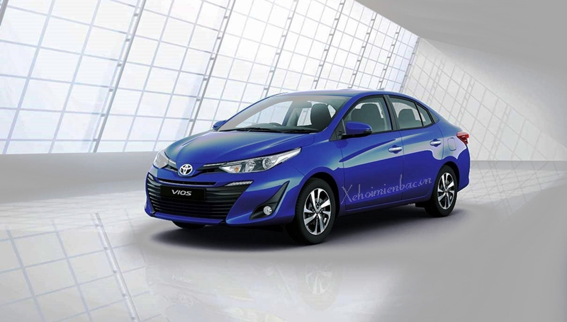 Xe Toyota Vios 2019 sắp ra mắt tại Việt Nam
