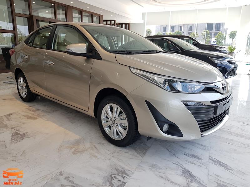 Xe Toyota Vios 2019 trưng bày tại Toyota Thái Hòa Từ Liêm