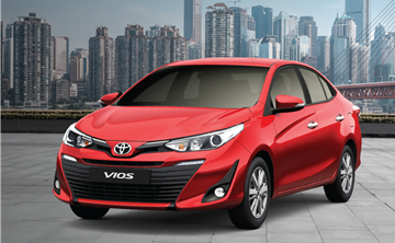 Xe Toyota Vios 2019 all new mới