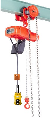 ALPHA type Electric chain block with geared trolley