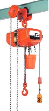 FAG/FBG type Electric chain block with geared trolley