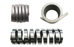 Noncircula wire springs