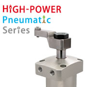 High-Power Pneumatic Swing Clamp WHE