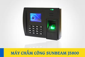 Máy chấm công vân tay và thẻ SUNBEAM J5800