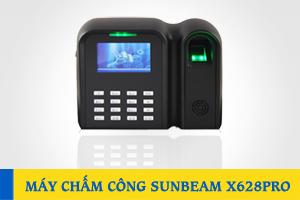 Máy chấm công vân tay và thẻ SUNBEAM X628Pro